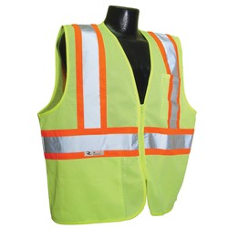 SV225 Economy Class 2 Self-Extinguishing Two-Tone Safety Vests